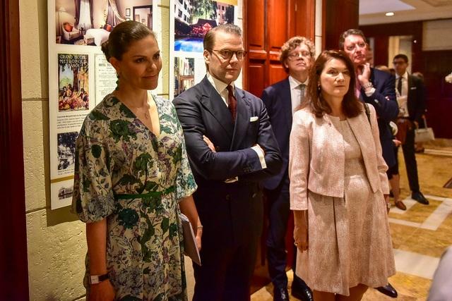 Công chúa Thụy Điển thăm căn hầm trú bom dưới khách sạn 5 sao ở Hà Nội - 3