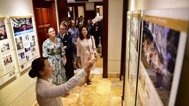 Công chúa Thụy Điển thăm căn hầm trú bom dưới khách sạn 5 sao ở Hà Nội - 4