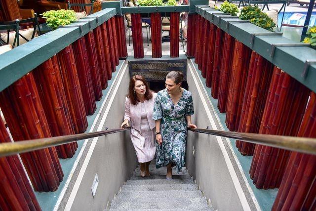 Công chúa Thụy Điển thăm căn hầm trú bom dưới khách sạn 5 sao ở Hà Nội - 5