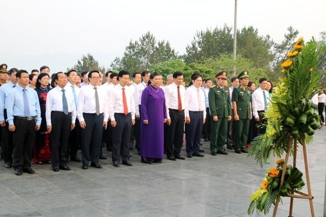 Lãnh đạo Đảng, Nhà nước viếng các anh hùng liệt sĩ tại Nghĩa trang A1 - 4