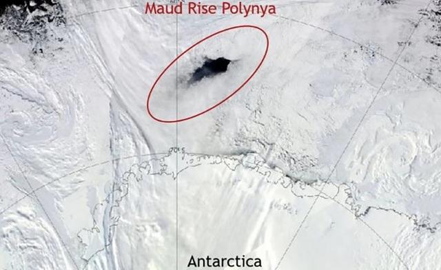 Phát hiện lỗ hổng bí ẩn ở Nam Cực - 1