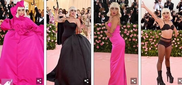 Loạt trang phục nổi bật của Lady Gaga tại Met gala 2019 - 1