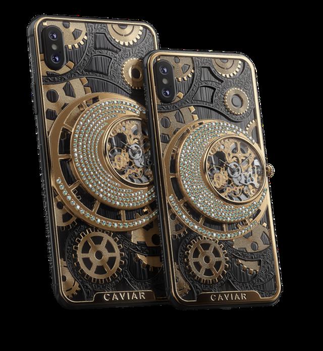 iPhone XS phiên bản mạ vàng, đính kim cương, giá hơn 550 triệu đồng - 1