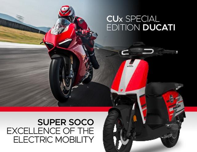 Ducati bắt tay doanh nghiệp Trung Quốc làm xe điện - 1