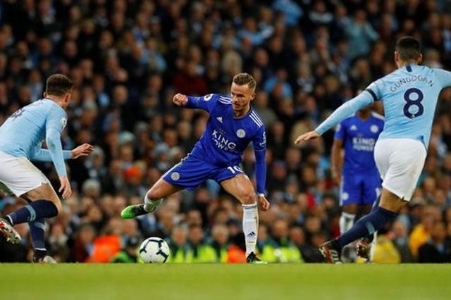 Man City 1-0 Leicester: Siêu phẩm của hậu vệ Kompany - 5