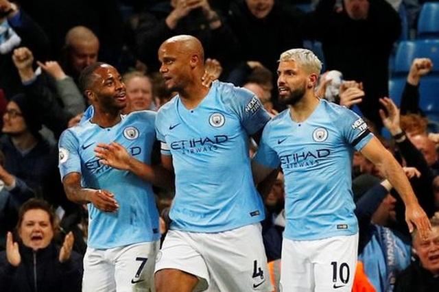 Man City 1-0 Leicester: Siêu phẩm của hậu vệ Kompany - 1
