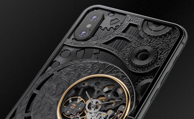 iPhone XS phiên bản mạ vàng, đính kim cương, giá hơn 550 triệu đồng - 3