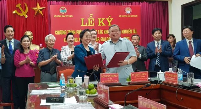 Hội Khuyến học Việt Nam ký kết với Hội Nông dân Việt Nam về học tập suốt đời - 1