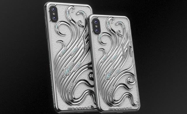iPhone XS phiên bản mạ vàng, đính kim cương, giá hơn 550 triệu đồng - 4