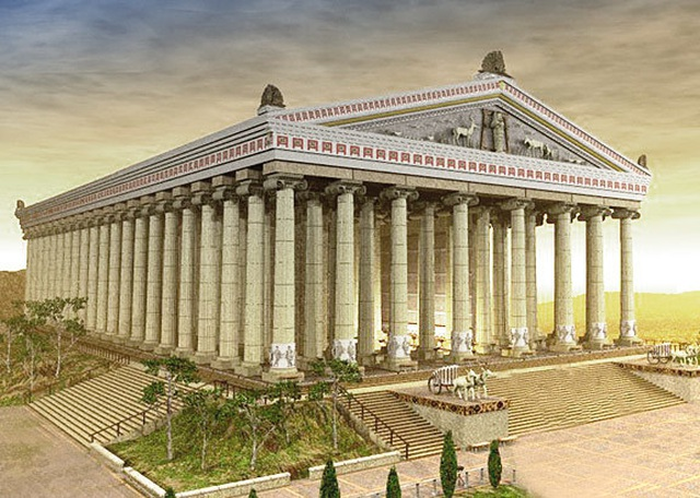 7 kỳ quan thế giới cổ đại được phục dựng qua hình ảnh 3D - 7