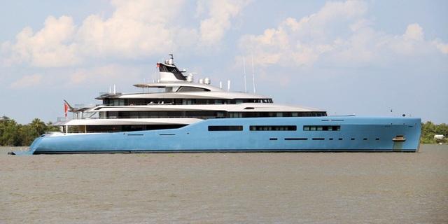 Cận cảnh siêu du thuyền triệu đô lướt sóng trên sông Hậu - 7