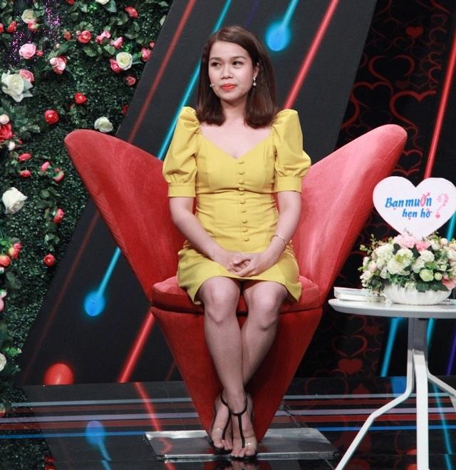"""Cô gái Bình Dương """"tán đổ"""" chàng giám đốc rụt rè tại show hẹn hò - 1"""