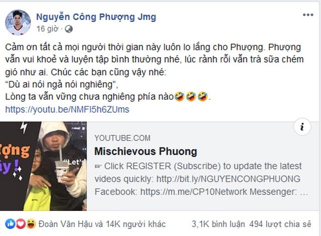 Công Phượng lên tiếng trấn an người hâm mộ Việt Nam - 2
