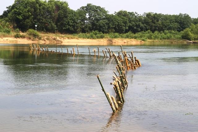 Vụ dân dàn trận địa cọc tre kín mặt sông chống tàu cát: Doanh nghiệp khai thác vượt độ sâu! - 2