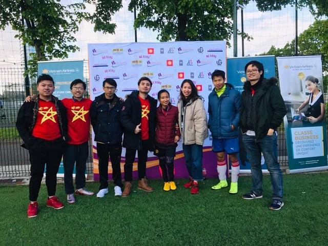 Tưng bừng dấu mốc 20 năm Giải bóng đá sinh viên Việt Nam tại Pháp - 3