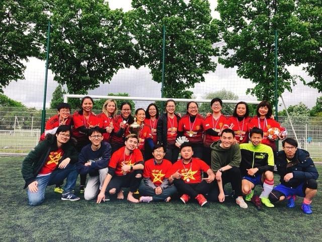 Tưng bừng dấu mốc 20 năm Giải bóng đá sinh viên Việt Nam tại Pháp - 4