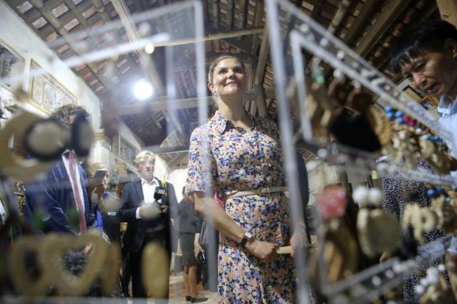 Công chúa Thụy Điển thăm Văn Miếu, ca ngợi tình hữu nghị lâu bền với Việt Nam - 19