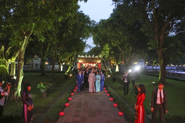 Công chúa Thụy Điển thăm Văn Miếu, ca ngợi tình hữu nghị lâu bền với Việt Nam - 3