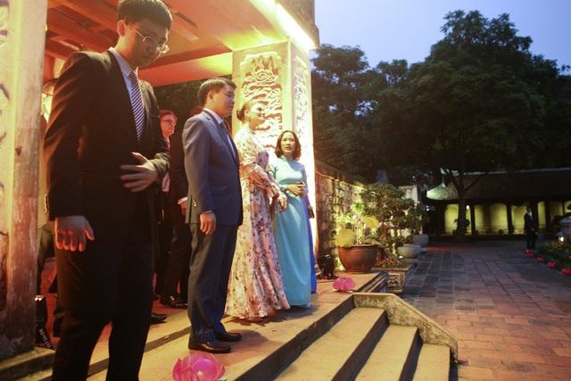 Công chúa Thụy Điển thăm Văn Miếu, ca ngợi tình hữu nghị lâu bền với Việt Nam - 7