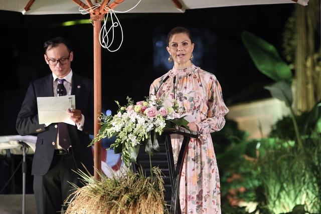 Công chúa Thụy Điển thăm Văn Miếu, ca ngợi tình hữu nghị lâu bền với Việt Nam - 10