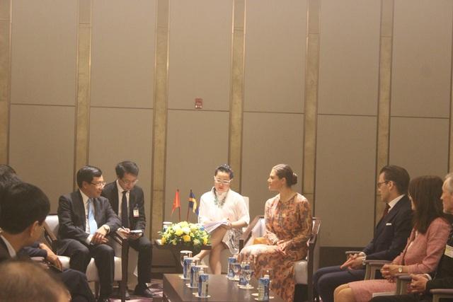 Công chúa kế vị Thụy Điển lạc quan về tiềm năng hợp tác với Việt Nam - 6