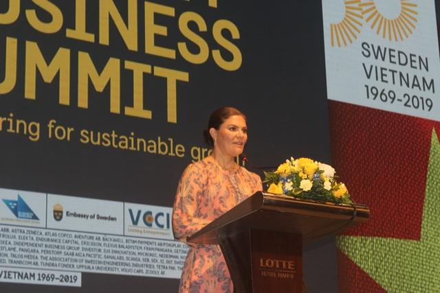 Công chúa kế vị Thụy Điển lạc quan về tiềm năng hợp tác với Việt Nam - 1
