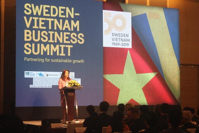 Công chúa kế vị Thụy Điển lạc quan về tiềm năng hợp tác với Việt Nam - 4