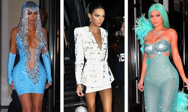 Choáng váng với váy bó nghẹt thở của Kim Kardashian - 1