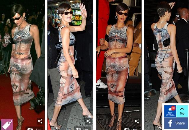 Choáng váng với váy bó nghẹt thở của Kim Kardashian - 9