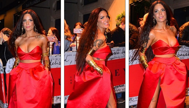 Choáng váng với váy bó nghẹt thở của Kim Kardashian - 36