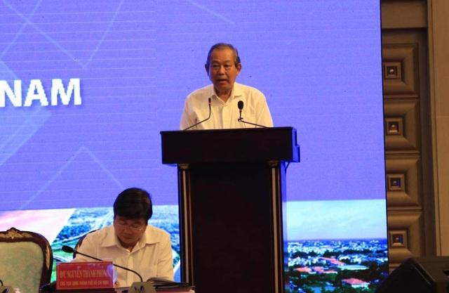Thủ tướng và 2 Phó Thủ tướng chỉ đạo về liên kết vùng kinh tế trọng điểm phía Nam - 2