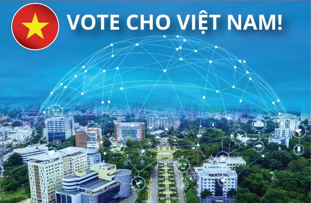 Việt Nam là đại diện duy nhất của Đông Nam Á lọt vào giải thưởng Thành phố thông minh châu Á - 1