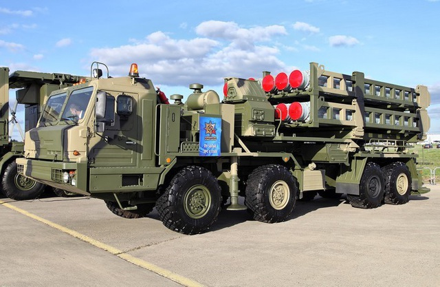 """Vityaz S-350 - """"Mảnh ghép hoàn hảo"""" của lưới lửa phòng không Nga - 1"""