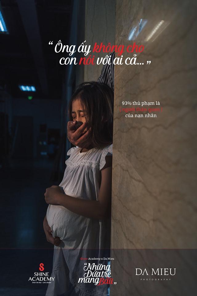 Tranh cãi kịch liệt về bộ ảnh Những đứa trẻ mang bầu - 3