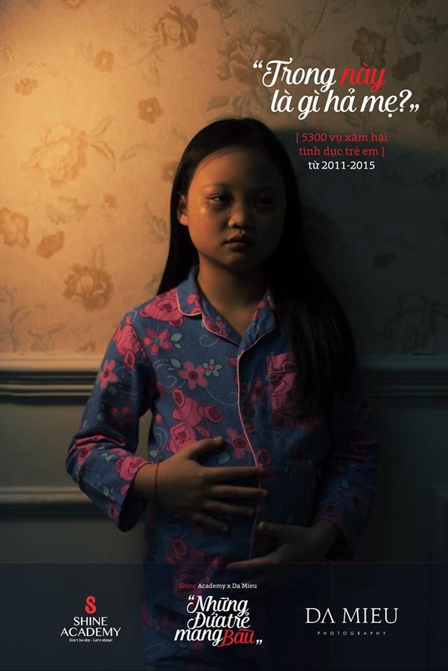 Tranh cãi kịch liệt về bộ ảnh Những đứa trẻ mang bầu - 6