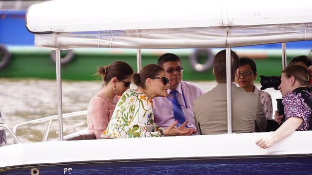 Công chúa Thụy Điển lướt ca nô du ngoạn sông Sài Gòn - 12