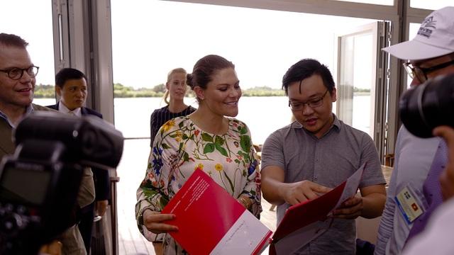 Công chúa Thụy Điển lướt ca nô du ngoạn sông Sài Gòn - 18