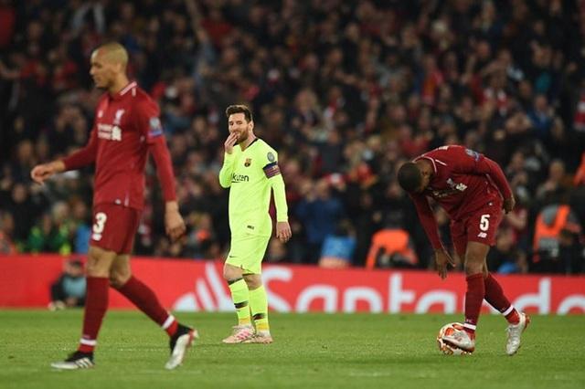 Liverpool 4-0 Barcelona: Cú sốc lớn tại Anfield - 1