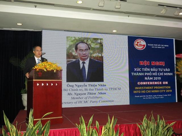 Bí thư Nguyễn Thiện Nhân: Mong các doanh nghiệp đến với TPHCM bằng khối óc và trái tim - 3