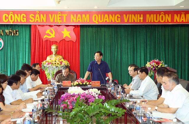 Phó Thủ tướng Vương Đình Huệ kiểm tra công tác cán bộ tại tỉnh Đắk Nông - 2