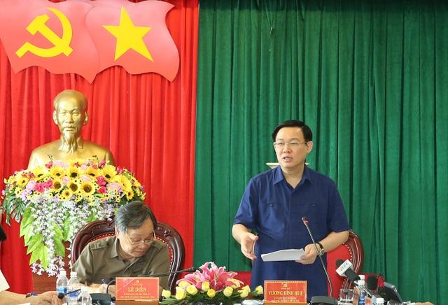Phó Thủ tướng Vương Đình Huệ kiểm tra công tác cán bộ tại tỉnh Đắk Nông - 1
