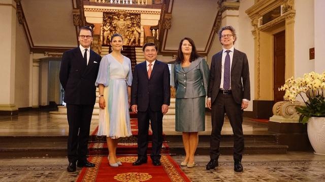Công chúa Thụy Điển: Sẵn sàng hợp tác với TPHCM xử lý nước thải, rác thải - 3