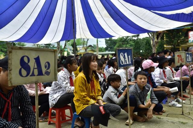Điện Biên: Thầy trò trường THCS Mường Mùn vui mừng đón nguồn nước sạch! - 5