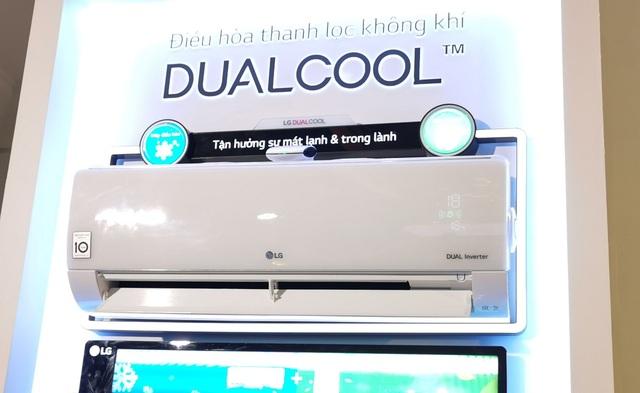 LG trình làng mẫu máy lạnh tích hợp máy lọc không khí tại Việt Nam - 2