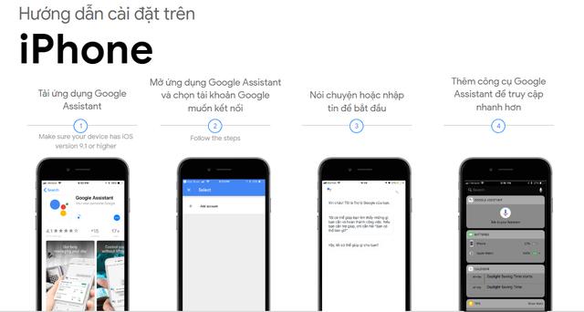Google Assitant tiếng Việt đã có mặt trên iPhone - 2