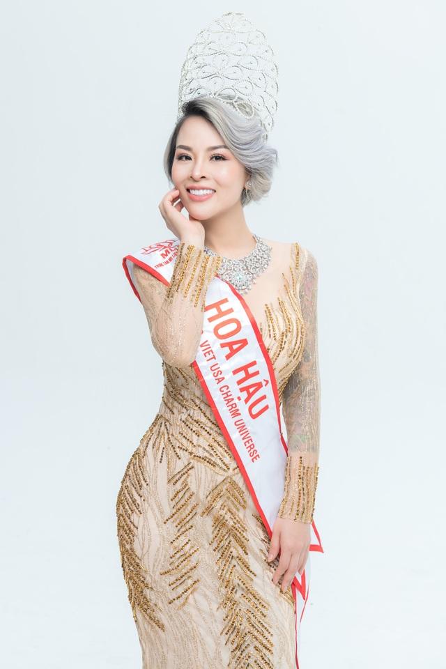 Hoa hậu Nguyễn Vi Thúy lộng lẫy trong đêm dạ tiệc sau đăng quang - 5