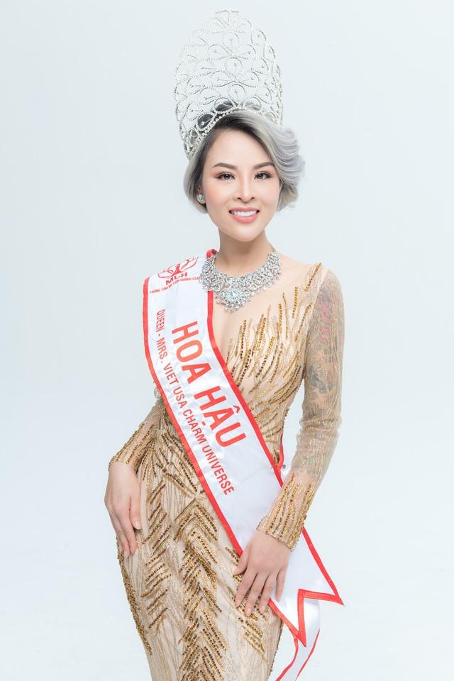 Hoa hậu Nguyễn Vi Thúy lộng lẫy trong đêm dạ tiệc sau đăng quang - 3