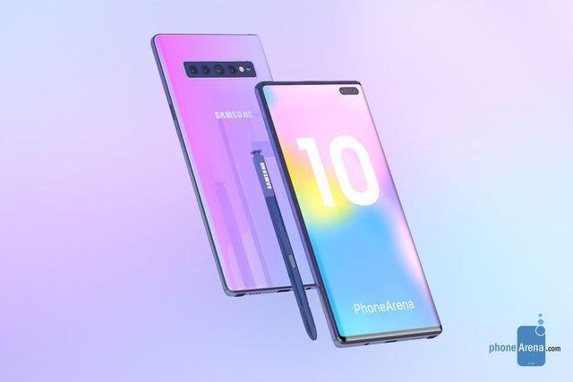 Galaxy Note10 sẽ có tốc độ sạc pin nhanh hơn Galaxy S10 gấp 3 lần - 1