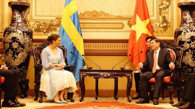 Công chúa Thụy Điển: Sẵn sàng hợp tác với TPHCM xử lý nước thải, rác thải - 5