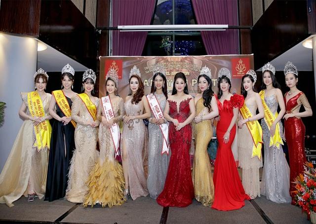 Hoa hậu Nguyễn Vi Thúy lộng lẫy trong đêm dạ tiệc sau đăng quang - 2